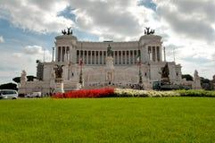 Monumento Vittorio Emanuele II przy Roma - Włochy zdjęcia royalty free