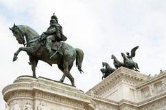 Monumento Vittorio Emanuele-ii-Rome Royalty-vrije Stock Foto's