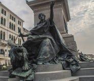 Monumento a Vittorio Emanuele II Venezia fotografia stock