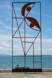 Monumento ' Rievocativo di Almada Negreiros' Fotografia Stock