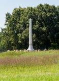 Monumento y cementerio Appomattox de Raine Fotos de archivo libres de regalías
