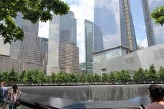 Monumento y museo nacionales del 11 de septiembre Foto de archivo libre de regalías