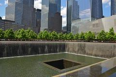 Monumento y museo nacionales del 11 de septiembre Imagenes de archivo