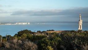 Monumento y San Diego de Cabrillo fotografía de archivo libre de regalías