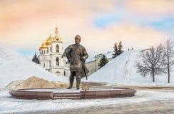 Monumento a Yuri Dolgoruky foto de stock