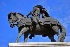 Monumento a Yuri Dolgoruky Kremlin em Kolomna, Rússia fotografia de stock