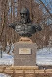 Monumento a Yuri Dolgoruky imagens de stock