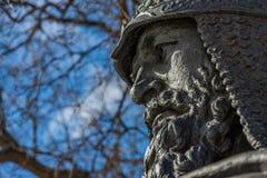 Monumento a Yuri Dolgoruky fotografia de stock royalty free