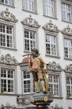 Monumento a Zurigo Fotografia Stock