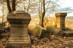 Monumentos antigos de Pautalia imagem de stock royalty free