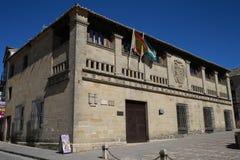 Monumentos antiguos de Baeza Imágenes de archivo libres de regalías