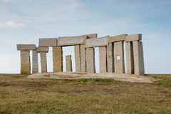 Monumentos célticos Imagen de archivo libre de regalías