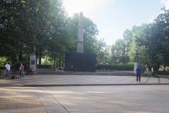 Monumentos confederados Imágenes de archivo libres de regalías