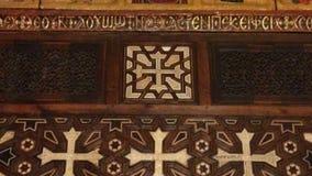 Monumentos cristianos de las iglesias viejas de El Cairo - Egipto imagenes de archivo
