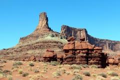 Monumentos da rocha Foto de Stock Royalty Free