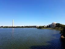 Monumentos de DC Imagen de archivo libre de regalías