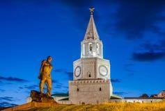 Monumentos de Kazán Imagen de archivo libre de regalías