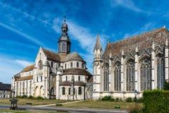 Monumentos de Picardía - Saint Germer de Fly Imagen de archivo libre de regalías