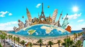 Monumentos do mundo Fotografia de Stock
