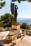 Monumentos e esculturas Grécia, Chania, Creta Imagem de Stock