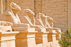 Monumentos en Luxor, Karnak, Egipto Fotografía de archivo