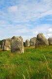Monumentos megalíticos en Bretaña Imagen de archivo libre de regalías