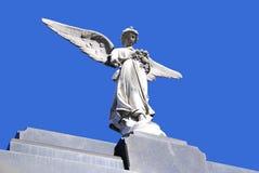 Monumentos velhos no cemitério de Recoleta Foto de Stock