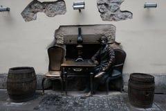 Monumentos y atracciones de la ciudad Calle en la ciudad de Lviv Ucrania 03 15 19 fotografía de archivo libre de regalías