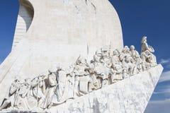 MonumentPadrao DOS Descobrimentos i Lissabon Royaltyfria Bilder
