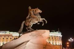 monumentpeter för kejsare stor ryss Royaltyfri Bild