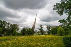 monumentraketavstånd Arkivfoto