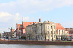 Monuments à Wroclaw, Pologne images libres de droits
