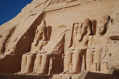 Monuments in Abu Simbel. Royalty Free Stock Photography