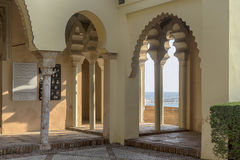 Monuments in Andalusia, the Alcazaba of Malaga Stock Photography