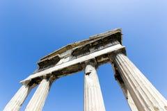 Monuments in Athens around acropolis Stock Image