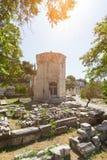 Monuments in Athens around acropolis Royalty Free Stock Photos