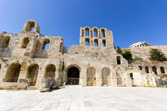 Monuments in Athens around acropolis Royalty Free Stock Images