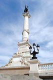 Monuments Aux Girondins. In Bordeaux, France Royalty Free Stock Photo
