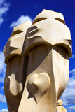 Monuments of Barcelona Stock Photography