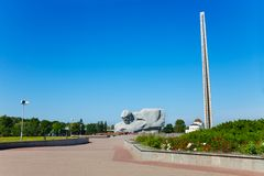 Monuments in Brest Belarus Royalty Free Stock Photography