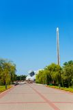 Monuments in Brest fortress Royalty Free Stock Photography