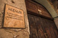Monuments - Budapest Royalty Free Stock Image