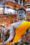 Monuments of buddah THAILAND Royalty Free Stock Photo