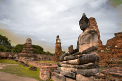 Monuments of buddah THAILAND Royalty Free Stock Image
