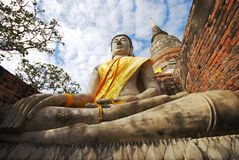 Monuments of Buddha Royalty Free Stock Image