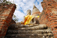 Monuments of Buddha, Thailand Royalty Free Stock Photos