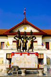 Monuments of chiangmai Thailand Royalty Free Stock Photography