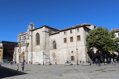 Monuments: churches. Photographed in the province of Burgos, Spain stock photography