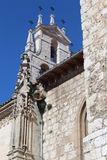 Monuments: churches. Photographed in the province of Burgos, Spain stock photos
