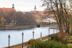 Monuments in the city of Wroclaw Stock Photography